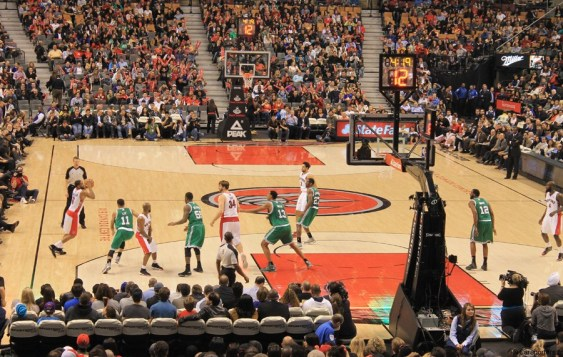 Basket NBA (2013) - Toronto Raptors vs Boston Celtics