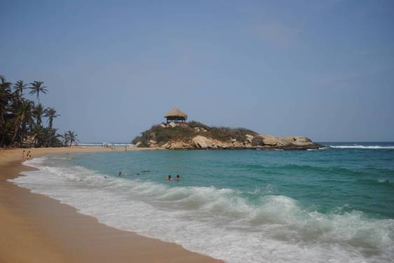 Colombie - Tayrona - plage5