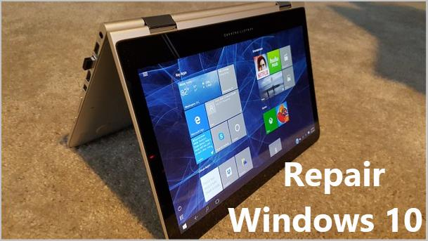 Cara repair Windows 10