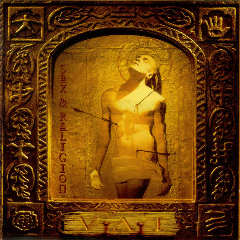 Steve Vai Sex and Religion logo album