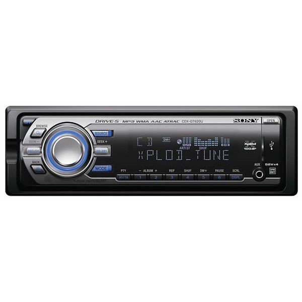 Sony Cdx Gt620u Mp3 Usb Player