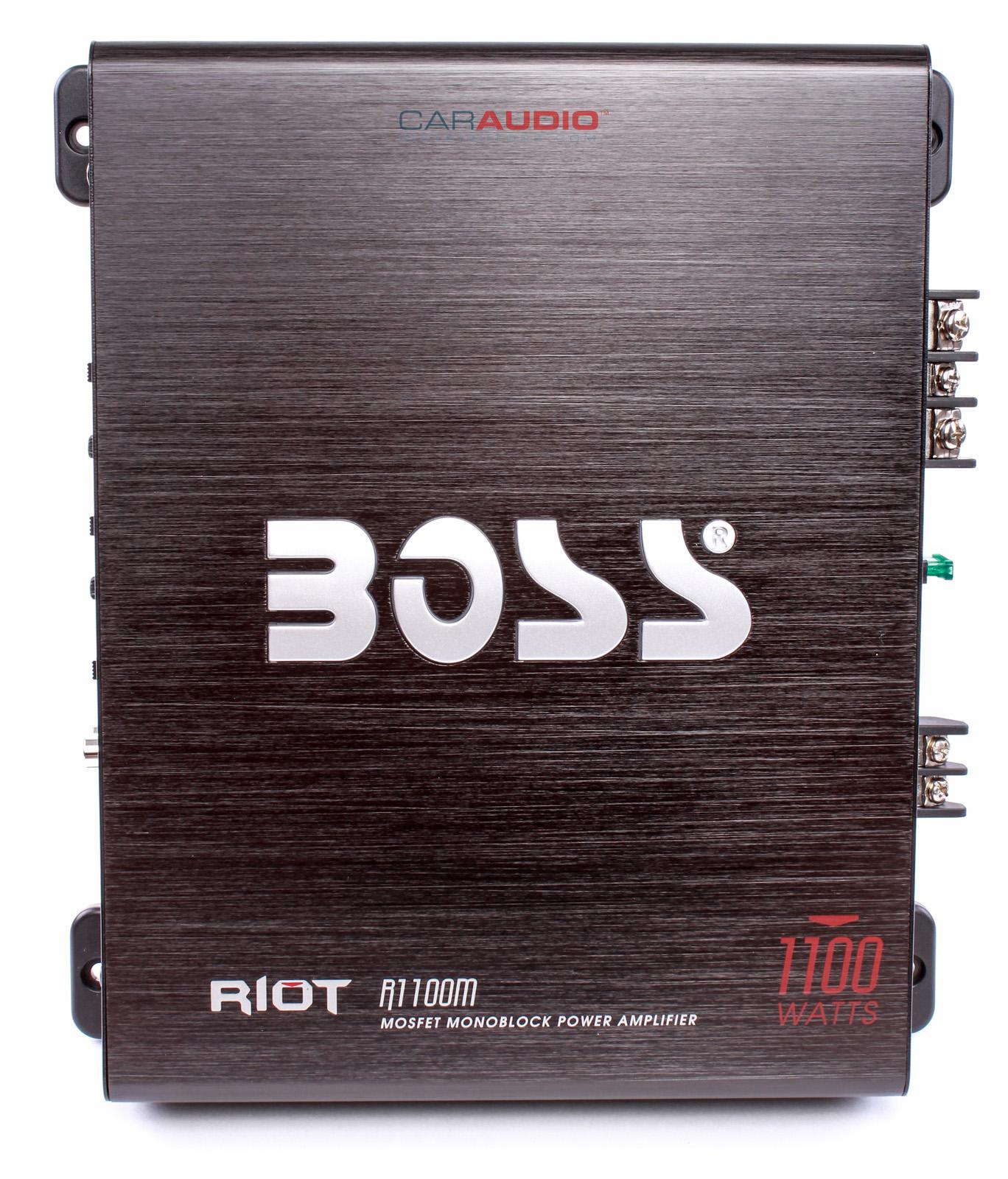 New Boss Audio R M W Riot Series Monoblock Class A