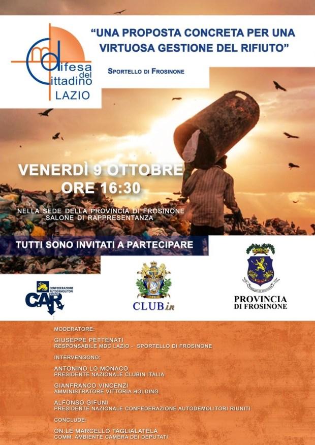 Convegno MDC Lazio 9 Ottobre Frosinone