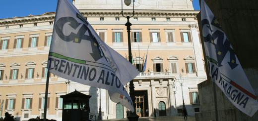 Manifestazione di protesta CAR- CNA a Roma