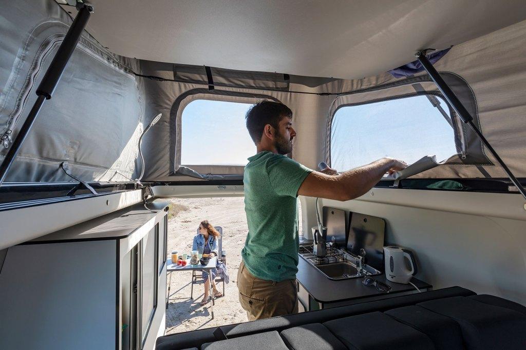 interior camper Panama VanP54