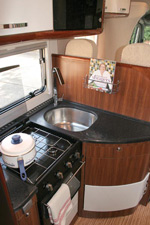 Adria Polaris Kitchen