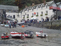 Clovelly Herring Festival