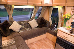 Elddis Crusader Supersirocco lounge