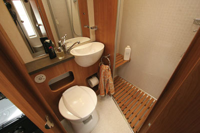 Bentley Donnington washroom