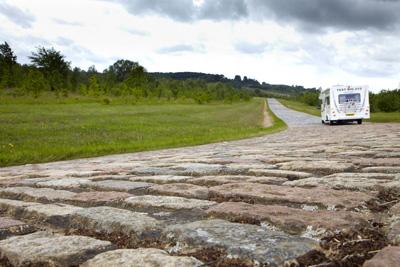 Bailey Motorhome Rear View