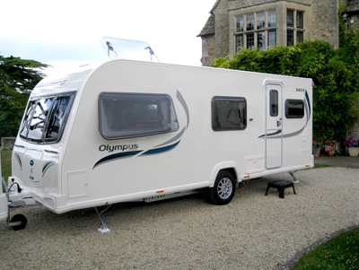 Bailey Olympus 2 touring caravan