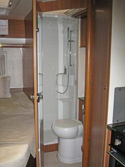 Bijou shower room