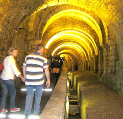 The Saline Tunnels