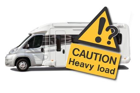 motorhome heavy load image