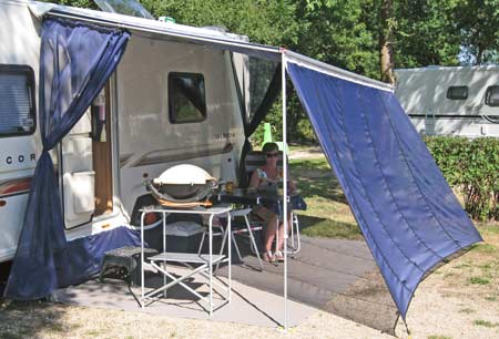 Wind Blockers Turn Your Wind Out Canopy Into An Awning