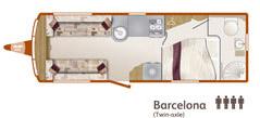 Barcelona floorplan