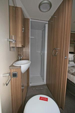 Sterling Eccles Sport 584 Caravan Shower Room