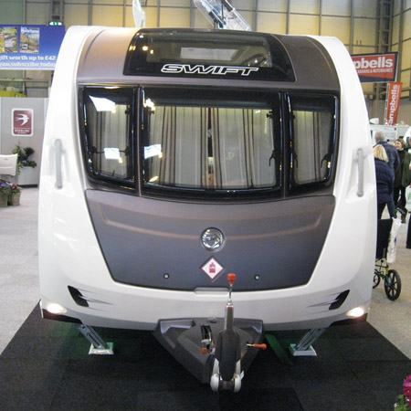 Swift Colour Concept Caravan Exterior