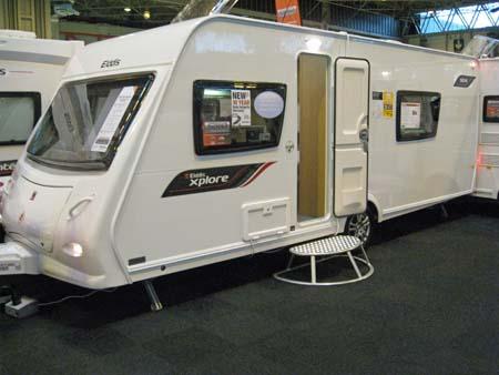 Elddis Xplore 504 Caravan