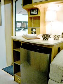 Coachman-VIP-dresser-with-large-fridge