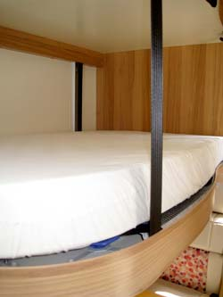 The Autograph 750 drop down bed
