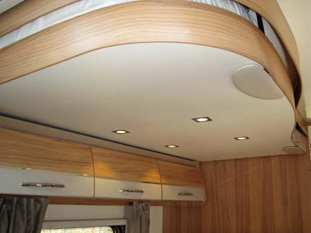 The Autograph 750 electricaly operated drop down double bed