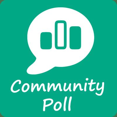 community poll icon