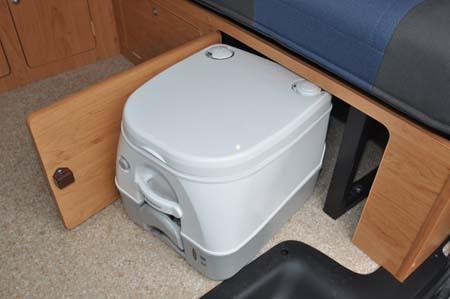 Portable toilet Hillside Leisure Ellastone 2013