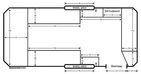 Dub-Box standard floorplan
