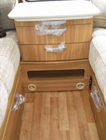 Lunar Ariva two-berth caravan drawer unit