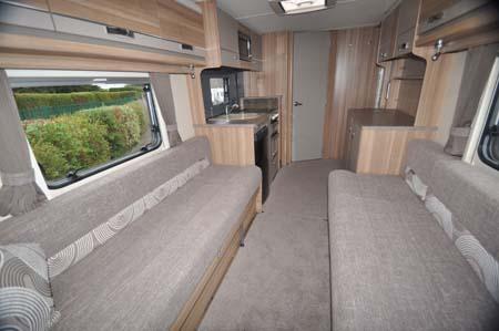 Bessacarr 442 motorhome interior