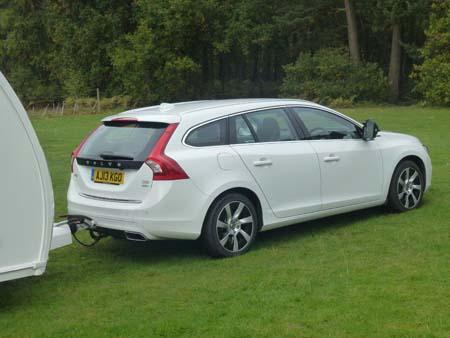 Volvo V60 Hybrid Side