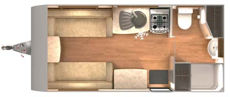 Lunar Lexon 470 Floor plan