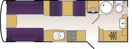 Coachman Laser 620 Floor plan