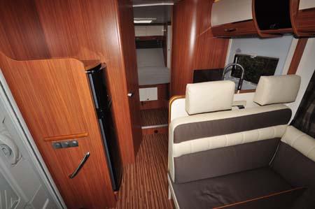 Adria Sonic Plus I 700 SC motorhome interior 1