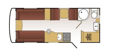 Coachman Vision Floor plan