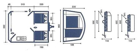 Trigano Galleon floor plan