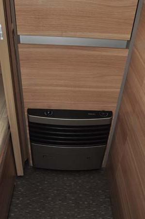 Adria Altea 552DT Tamar Heater