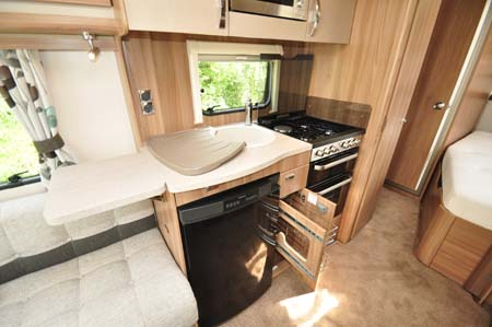 Swift Challenger Sport 514 Kitchen