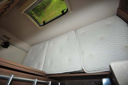 Swift Escape 696 bed cushions