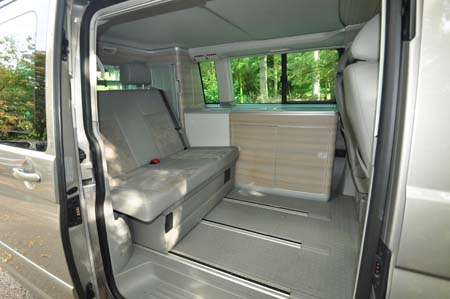 VW California SE Rear Seats
