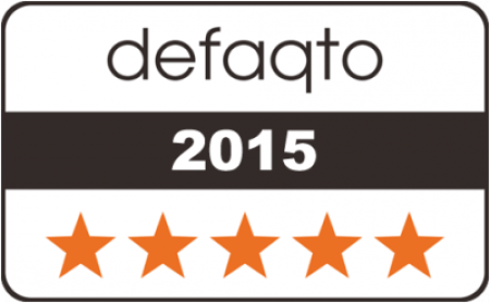 Caravan Guard caravan insurance rated 5 Star by Defaqto