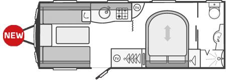 Swift Sprite Major 4SB Floor Plan
