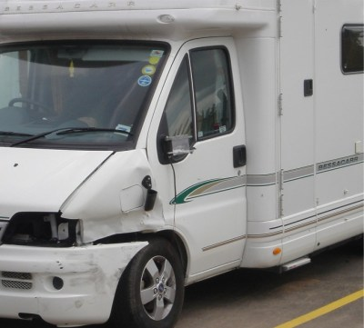 motorhome damage
