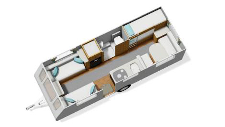 Elddis Xplore floor-plan