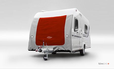 Caravan towing cover