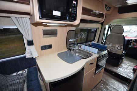 Auto Sleeper Warwick XL Kitchen