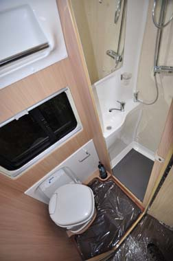 Auto Sleeper Warwick XL Washroom