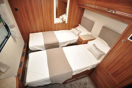Buccaneer Clipper Caravan Twin Beds