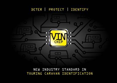 VIN Chip touring caravan identification